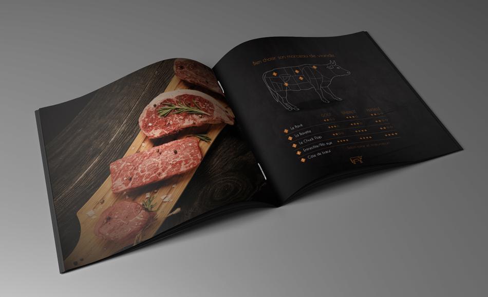 restaurant lille Beef Steakhouse menu
