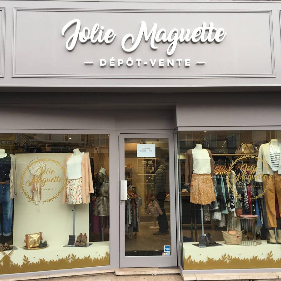 Création vitrine Jolie Maguette