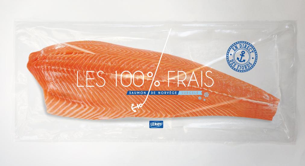 saumon frais surgelé leroy seafood