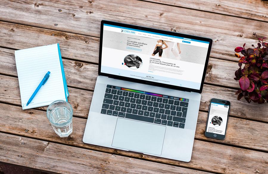 webdesign site internet cerecare