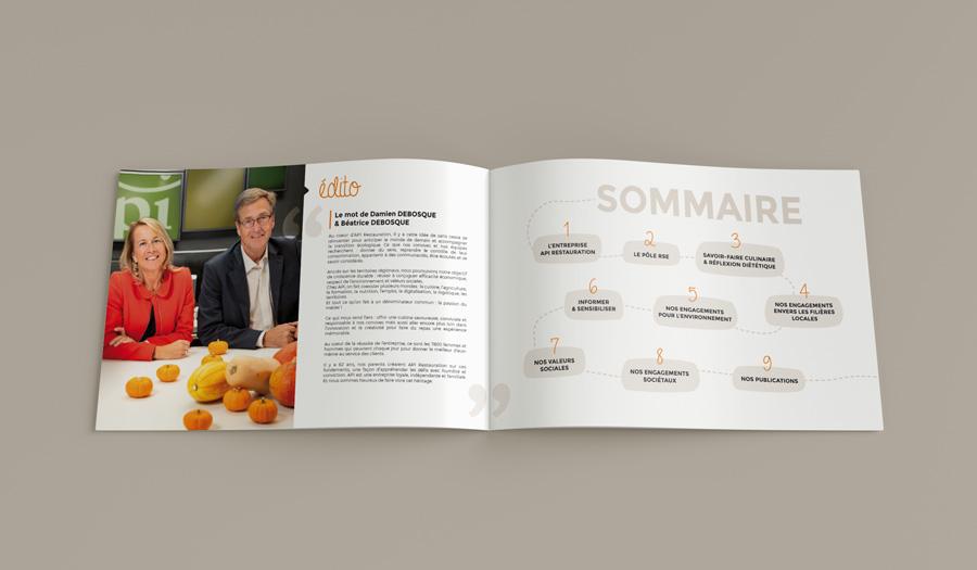 RSE rapport API Restauration sommaire