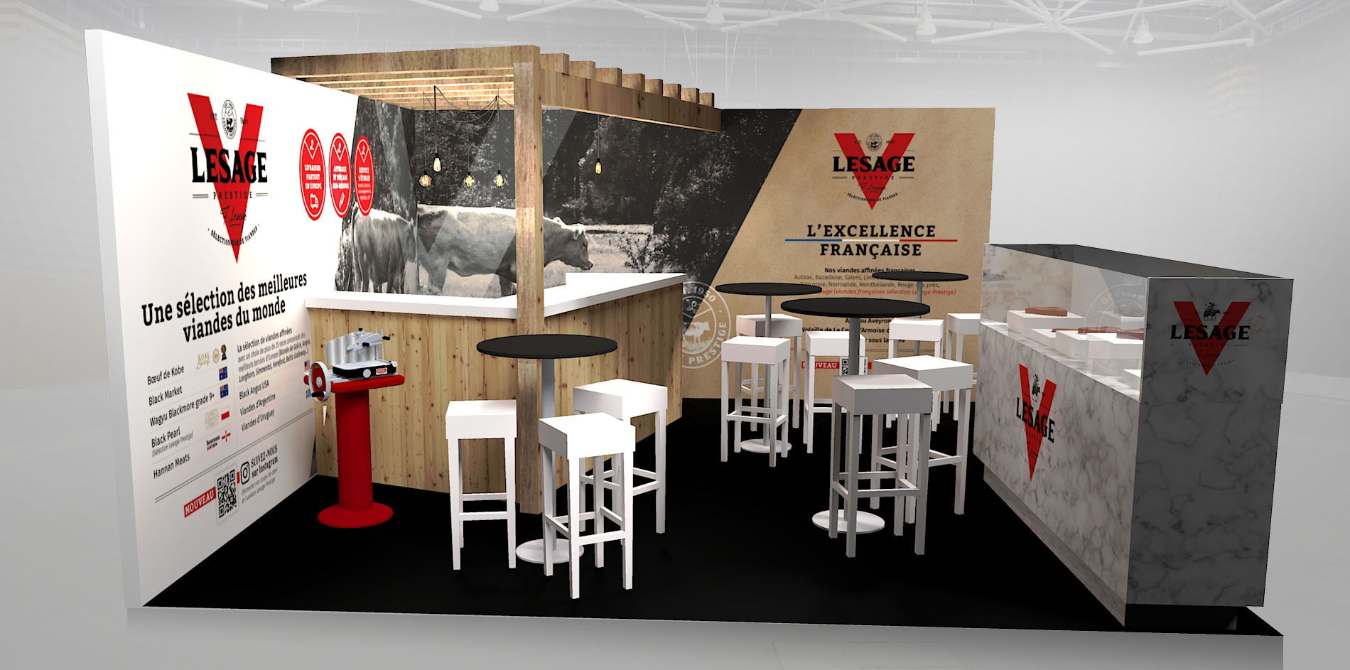 lesage stand SIHRA mobilier