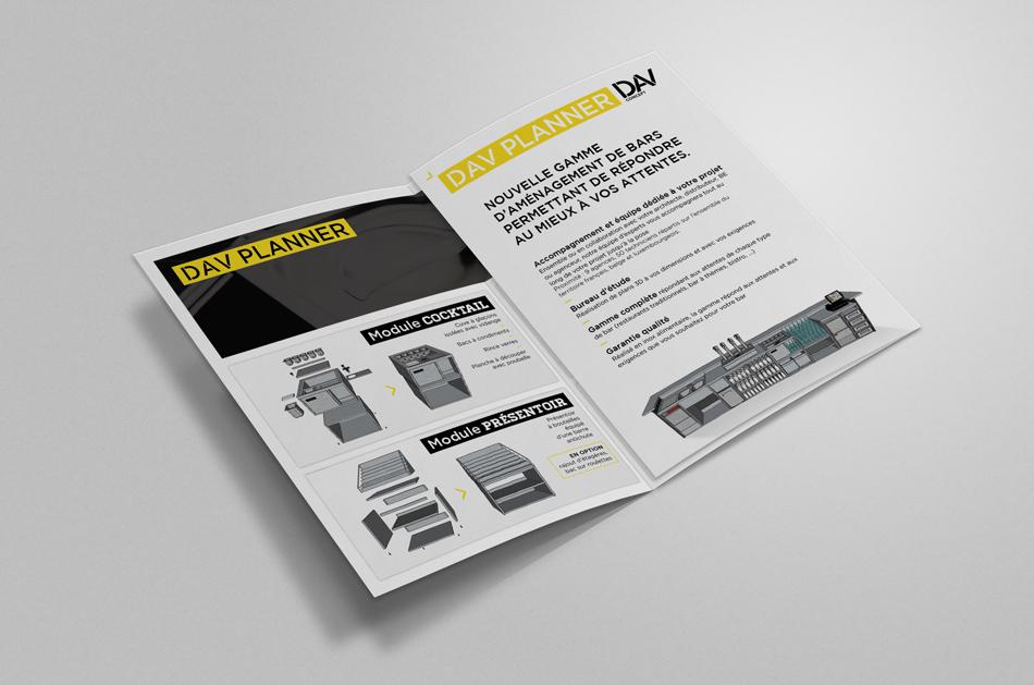 DAV concept brochure brasserie