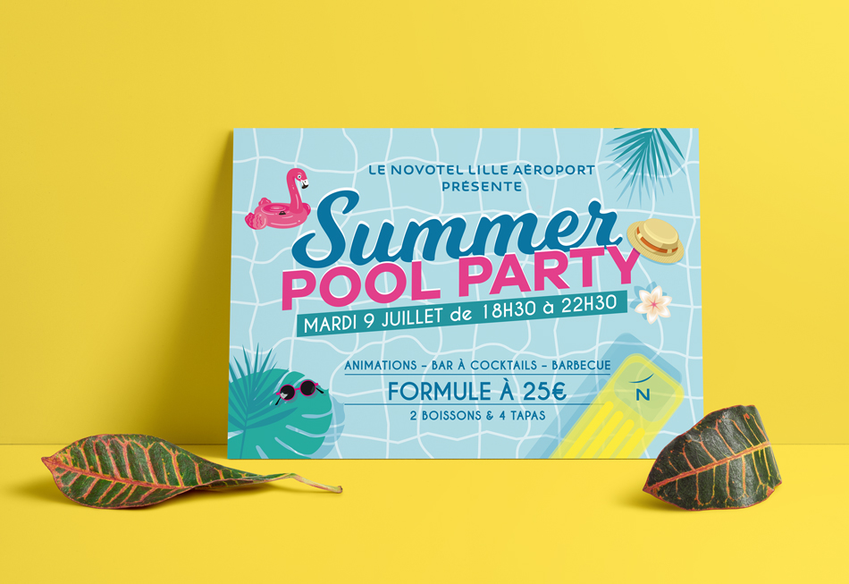 novotel summer pool party